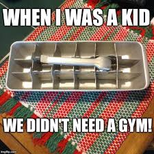 ice wrestling when i was a kid we didn t need a gym image