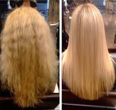 hair stylist gor hair loss in nj blonde before after keratin treatment hair salon in hoboken nj