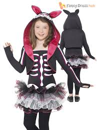 cat costume for halloween smiffys skelly cat costume dress shrug with hood and collar