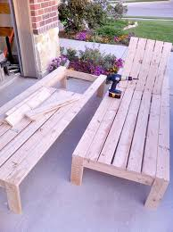 How To Build Outdoor Wooden Chairs by Diy Outdoor Chaise Lounge Diy Pool Chaise Lounges And Lounge Chairs