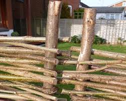 natural hazel hurdles fencing screening panel morgan supplies