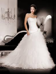 wedding dress ruching strapless ruched organza fashion wedding dress with layered skirt