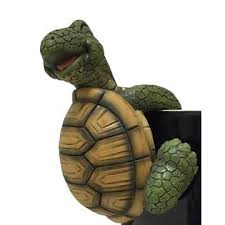 turtle pot sitters style 2 outdoor living outdoor decor lawn