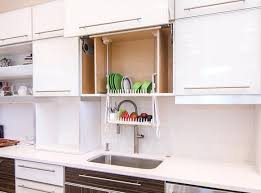 Kitchen Dish Cabinet   finnish dish drying closets apartment therapy
