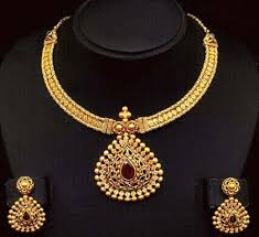 gold antique necklace set images 9 popular indian antique gold jewellery designs styles at life jpg