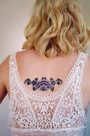 floral and retro temporary tattoos u2013 fubiz media