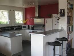 cuisine ouverte avec bar cuisine ouverte sur salon avec bar 3 davaus decoration cuisine