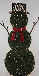 Commercial Outdoor Lighted Christmas Decorations by Northlight Giant Commercial Grade Led Lighted Snowman Topiary
