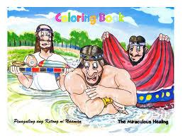 philippine bible society coloring book naaman children u0027s