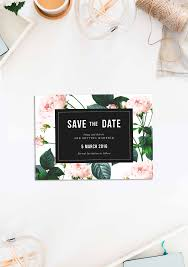 wedding invitations rose modern vintage rose wedding invitations sail and swan studio