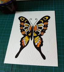 57 best traditional tattoo flash butterfly images on pinterest