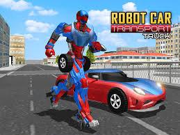 superheroes trucks car garage monster robot car transport truck sim android apps on google play