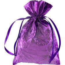 metallic gift bags crushed metallic gift bag 9 x 6 metallic purple rk180323