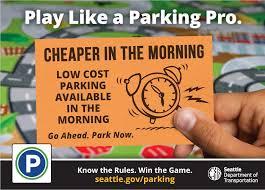 play like a parking pro transportation seattle gov