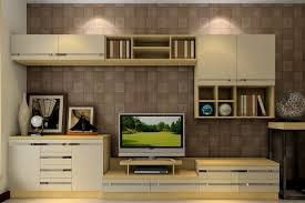 Modular Wall Units by Nice Small Modern Showcase Design With Mdf White Wall Units And