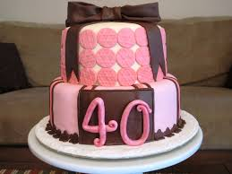 Home Decorated Cakes by 40th Birthday Cakes For Women Tips To Select 40th Birthday Ideas