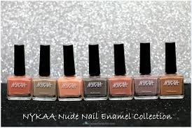 nykaa nail enamel collection review swatches u2013 planet