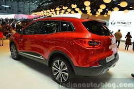 renault suv 2015 2015 renault kadjar rear three quarter view at 2015 geneva motor