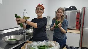 thanksgiving week vegetable prep and drive by orach chaim
