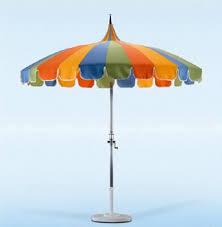 Frontgate Patio Umbrellas California Umbrella Pagoda Styled Patio Umbrella 86 Pagoda