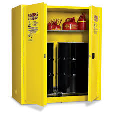 Outdoor Chemical Storage Cabinets Amazon Com Eagle Haz1955 Drum Storage Safety Cabinet For