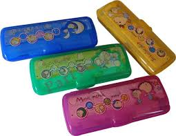 pencil box pratap pencil box assorted menia p1pc000331 pencil