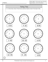 telling time worksheets grade 2 u2013 wallpapercraft