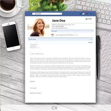how should a cover letter for facebook look