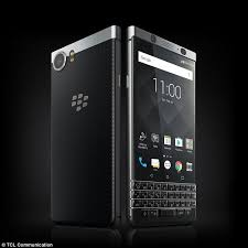 blackberry keyboard for android blackberry launches keyone handset with physical keyboard daily