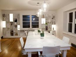 White Marble Dining Tables Classic Dining Room Ideas For White Marble Dining Table Intended