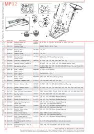 massey ferguson front axle page 52 sparex parts lists