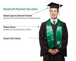 college cap and gown graduation regalia graduation graduation utah valley