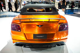 bentley orange 2015 mansory bentley continental gtc