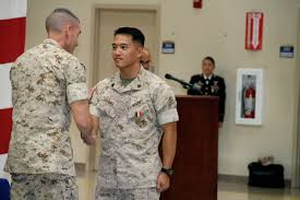 Usmc Flag Officers Marine Receives Second Highest Navy Commendation In Non Combat