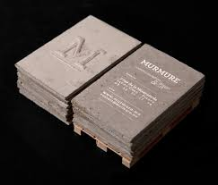 Concrete Business Cards | concrete business cards man made diy crafts for men
