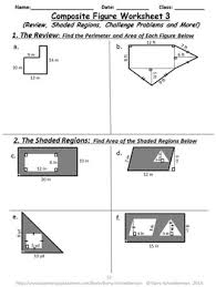 figure mania area and perimeter of composite 2 d shapes
