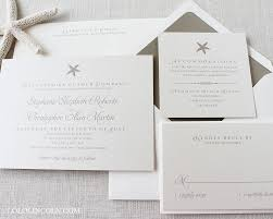 starfish wedding invitations wedding invitations by lolo lincoln