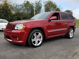red jeep commander pre owned 2010 jeep grand cherokee srt8 4d sport utility in