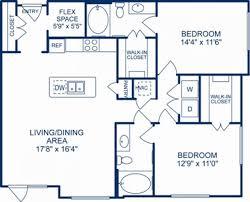 Walk In Closet Floor Plans Studio 1 U0026 2 Bedroom Apartments In Houston Tx Camden City Centre