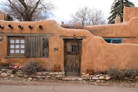 adobe house when a petite adobe house is nestled in the high desert mountains