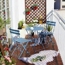 Balcony Bistro Set Patio Furniture - balcony chair and table design ideas for urban outdoors