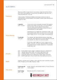 Political Science Resume Sample by Free Resume Templates 2017 U2022