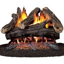 procom 24 in vented natural gas fireplace log set wan24n 2 the