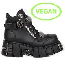 vegan boots and shoes by new rock