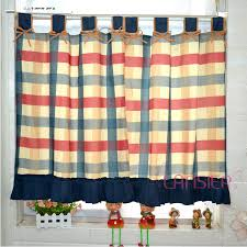 Checkered Kitchen Curtains Plaid Kitchen Curtains Home Design Ideas And Pictures