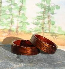 touch wood rings 121 best touch wood wedding rings images on wood rings