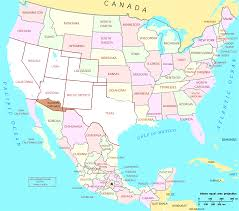 Mi Map Map Of Usa With Mexico World Maps