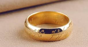 the one ring wedding band get stunning lord of the rings wedding band ringsbook