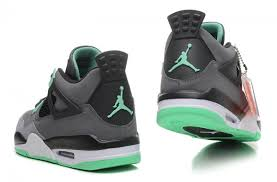 green glow 4 new arrival air 4 iv retro grey green glow cement