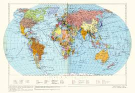 Map Of The World Countries by Large Detailed Political Map Of The World Since Soviet Times